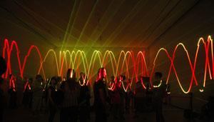 imagen de Laser sound performance