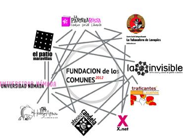 Diagrama Fundación de los Comunes