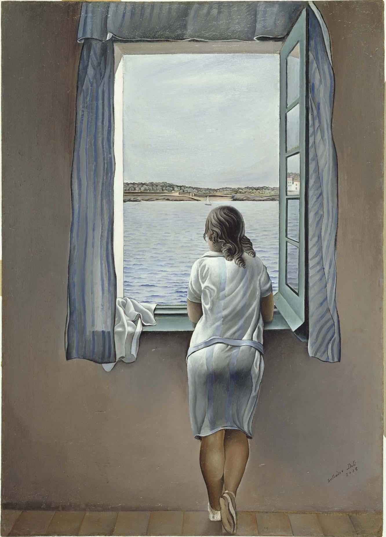 Salvador Dalí - Figura en una finestra (Figura en una ventana)