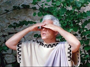 Jean-Marie Straub y Danièle Huillet. Der Tod des Empedokles oder Wenn dann der Erde grün von neuem euch ergläntz (La muerte de Empédocles o Cuando el verde de la tierra brille de nuevo para vosotros). Película, 1987