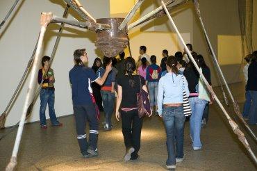 Desarrollo de la visita. Museo Reina Sofía, 2007