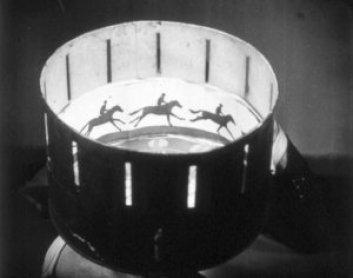Imagen de un praxinoscopio.