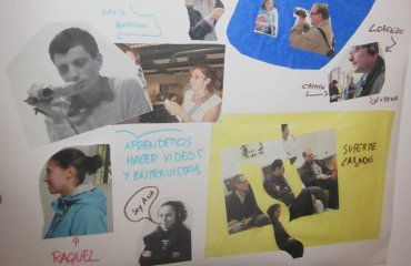 Fotocollage realizado por Conect@ como presentación ante los miembros del Equipo