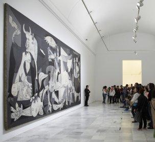 Ante Guernica, 1937 de Pablo Picasso, 2011.