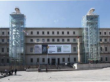 Sabatini Building façade, Museo Reina Sofía