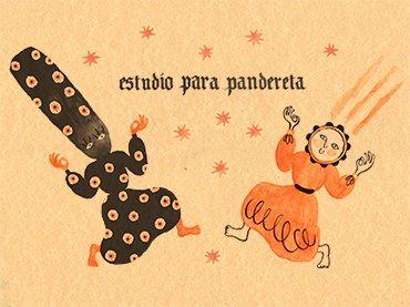 """Imagen para """"Estudio para pandereta"""" © Beatriz Lobo"""
