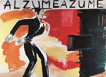René Daniëls.Alzumeazume. Pintura, 1984. Kunstmuseum Wolfsburg