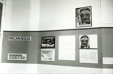 Susan Meiselas. Mediations. Exposición, Camerawork Gallery, Londres, 1982