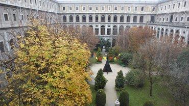 Imagen del Jardín, Museo Reina Sofía