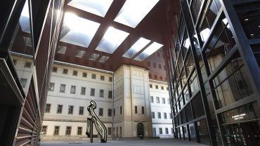 Photography of Nouvel Courtyard, Museo Reina Sofía