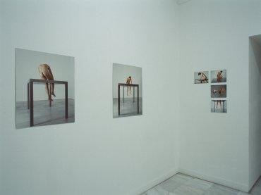 Vista de sala de la exposición. Javier Codesal: Inmóviles. Fábula de un hombre amado, 1999