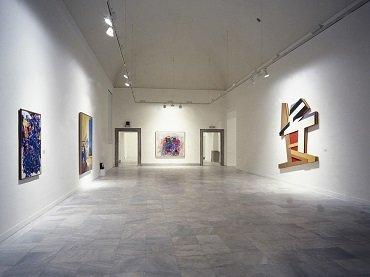 Vista de sala de la exposición. Obras Maestras de la Colección Phillips de Washington, 1988
