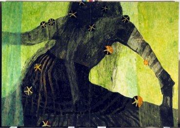 Martin Assig. Frau, 2011. Pintura. Colección Museo Nacional Centro de Arte Reina Sofía, Madrid