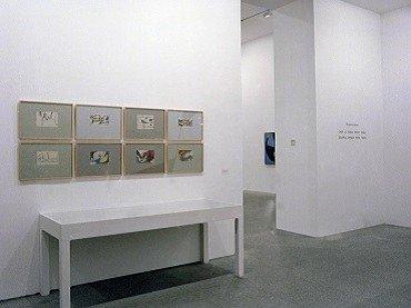 Vista de sala de la exposición. Equipo 57, 1993