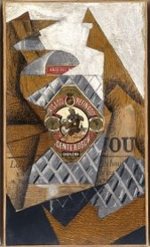 Juan Gris. La bouteille d'anis (The Bottle of Anis ), 1914. Painting. Museo Nacional Centro de Arte Reina Sofía Collection, Madrid