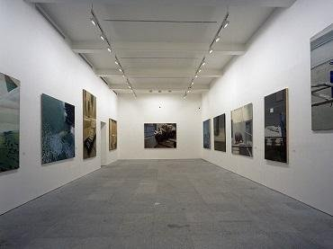 Exhibition view. Gilles Aillaud, 1991