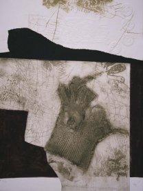 Antoni Clavé. Le gant de New York, 1975. Arte gráfico. Colección Museo Nacional Centro de Arte Reina Sofía, Madrid