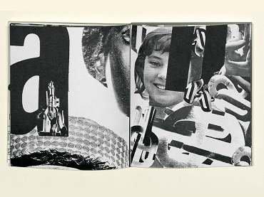 Jean François Bory. Post-scriptum. Paris, Eric Losfeld éditeur, 1970 © Jean François Bory, VEGAP, Madrid, 2015