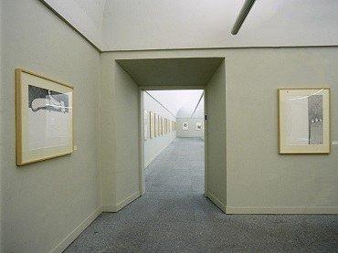 Vista de sala de la exposición. Cristino de Vera. Dibujos, 1996