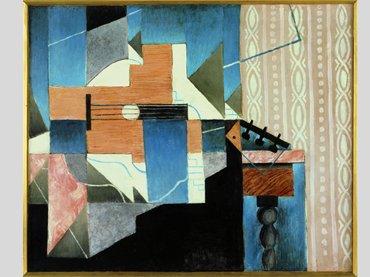 Juan Gris, La guitare sur la table [La guitarra sobre la mesa], 1913