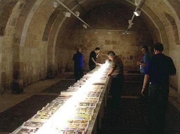 Vista de sala de la exposición. Francesc Ruiz. La visita guiada, 2008