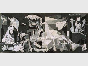 Pablo Picasso. Guernica, 1937. Museo Nacional Centro de Arte Reina Sofía Collection © Sucesión Pablo Picasso, VEGAP, Madrid, 2017