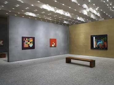 Vista de sala de la exposición. Howard Hodgkin, 2006