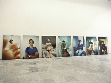 "Exhibition view. Jana Leo. ""A"", 1999"