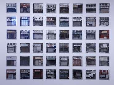 Vista de sala de la exposición. Zoe Leonard. Fotografías, 2009
