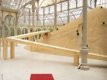 Exhibition view. Eva Lootz. La lengua de los pájaros, 2002
