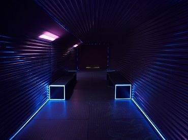 Vista de sala de la exposición. Francisco López. Sin título #223, 2010