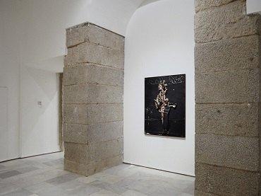 Exhibition view. Manuel Millares, 1992