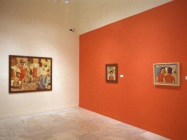 Exhibition view. José Jorge Oramas: metafísico solar, 2003