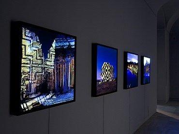 Exhibition view. Javier Riera. Noche áurea, 2008