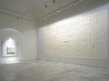 Exhibition view. Elena del Rivero. Cinco cartas retenidas, una sexta inacabada, una séptima enviada, más una octava recibida, 1998