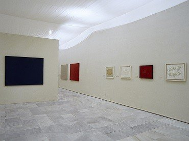 Exhibition view. Gerardo Rueda. Retrospective, 1941-1996, 2001