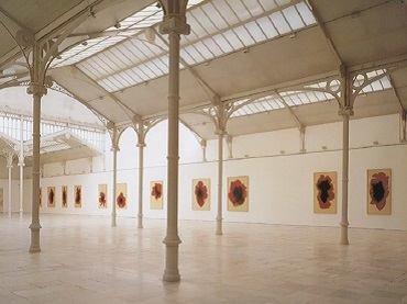 Vista de sala de la exposición. José María Sicilia. L'Horabaixa, 1997