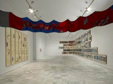 Exhibition view. Nancy Spero. Dissidances, 2008