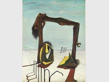 Ramses Younane, Sin título, 1939. Óleo sobre lienzo