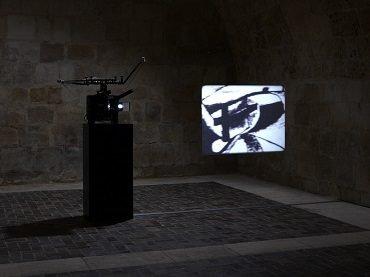 Vista de sala de la exposición. Tacita Dean. El garabato del fraile, 2010