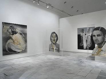 Vista de sala de la exposición. Darío Villalba. Una visión antológica 1957-2007, 2007