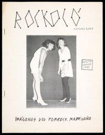 Miguel Trillo. Fanzine Rockokó, n. 0 (1981). Archivo Miguel Trillo. Centro de Documentación