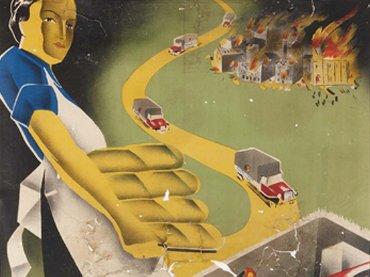 Cartel Ha entrado la España de Franco antes de la restauración