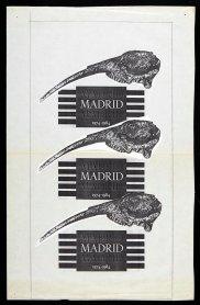 Portada del catálogo de la exposición Madrid, Madrid, Madrid (1980). Archivo Quico Rivas. Centro de Documentación