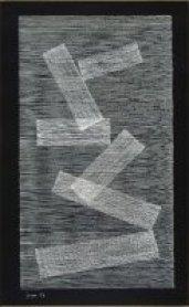 Eusebio Sempere. Sin título, 1959. Gouache sobre cartulina, 64,8 x 49,6 cm