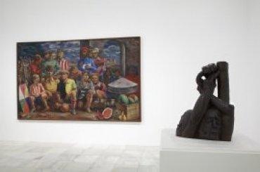 Sala de la exposición Encuentros con los años 30, en Edificio Sabatini, Planta 1