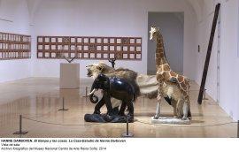 Vista de sala / gallery view El tiempo y las cosas. La casa-estudio de Hanne Darboven (imagen 2)