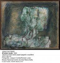 Jean Fautrier. El árbol verde, 1942