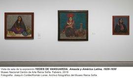 Vista de sala de Redes de Vanguardia: Amauta y América Latina,  1926-1930