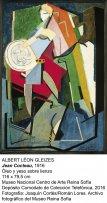 Jean Cocteau (1916). Albert Leon Gleizes